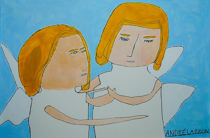 """""""Änglarna"""" av André Larzon"""