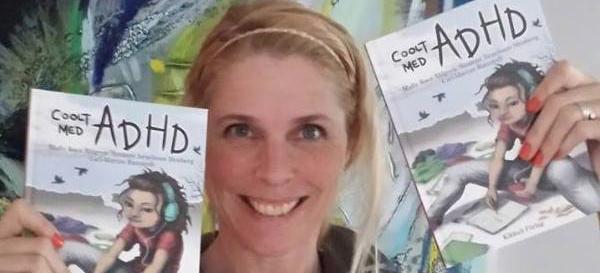 """Malin Roca Ahlgren, författare till boken """"Coolt med ADHD"""""""