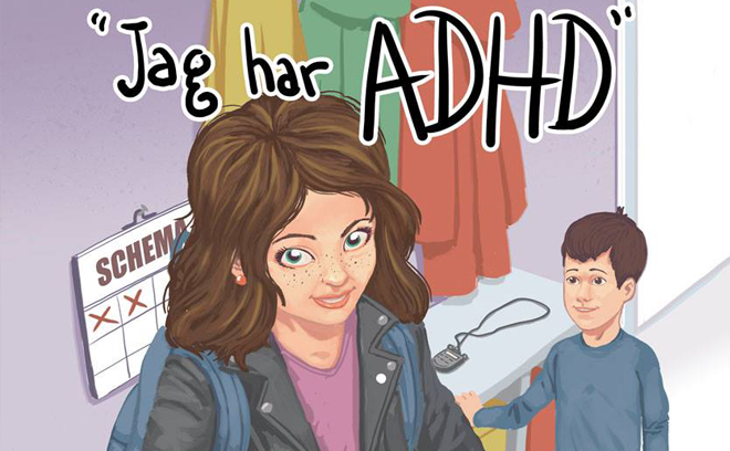 Jag har ADHD av Malin Roca Ahlgren