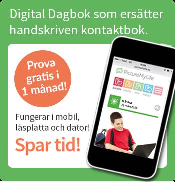 Digital Dagbok ersätter handskriven kontaktbok. Prova gratis i en månad!